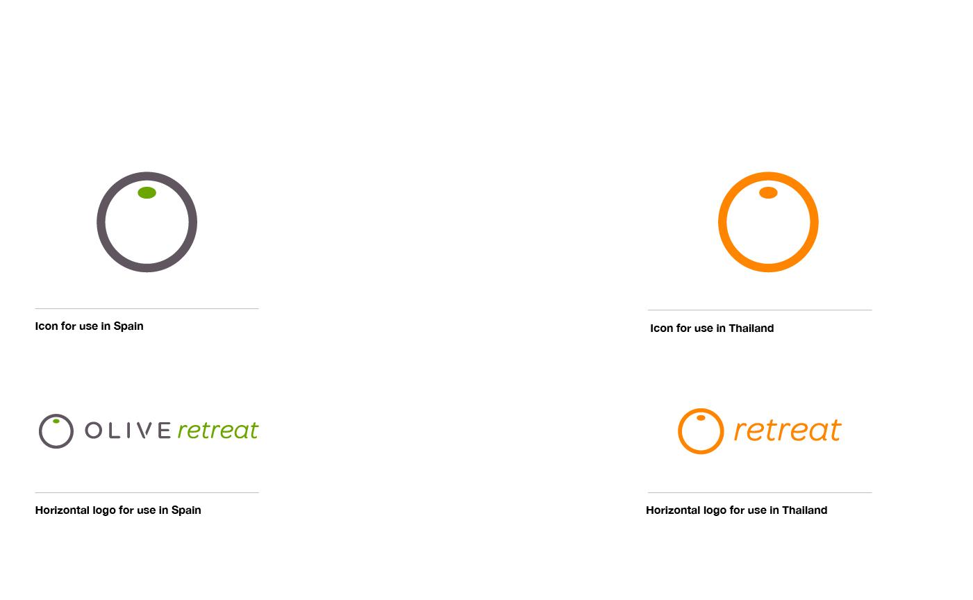 SOS Media Supporting Logo Design, Consulting, Branding for Retreats