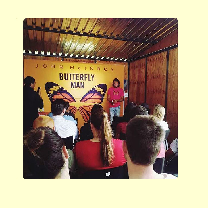 Butterfly Man Book Reading South Africa