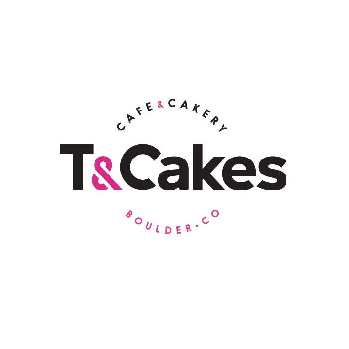 T&Cakes SOS Media Logo Design Branding Cafe
