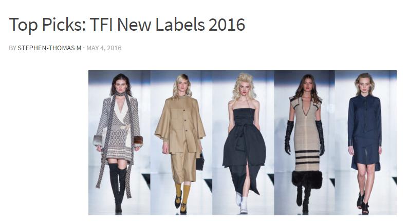 STM  Top Picks: TFI New Labels 2016