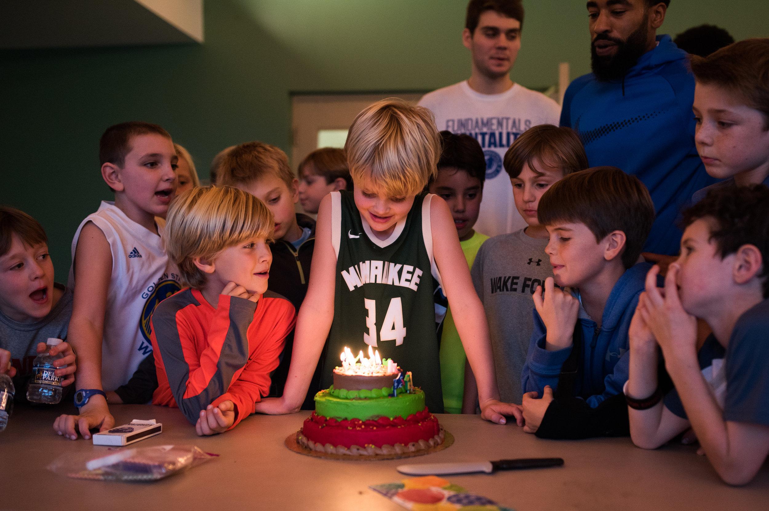 Birthdays - At the Academy