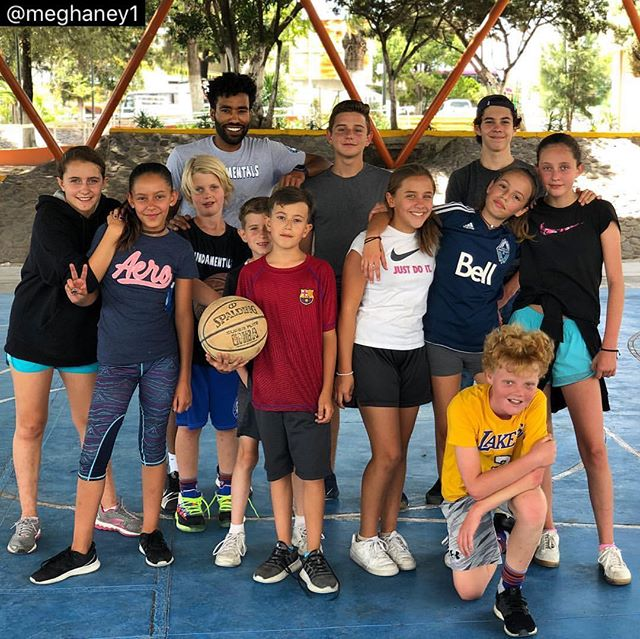 Coach Omar in San Miguel with the best campers!