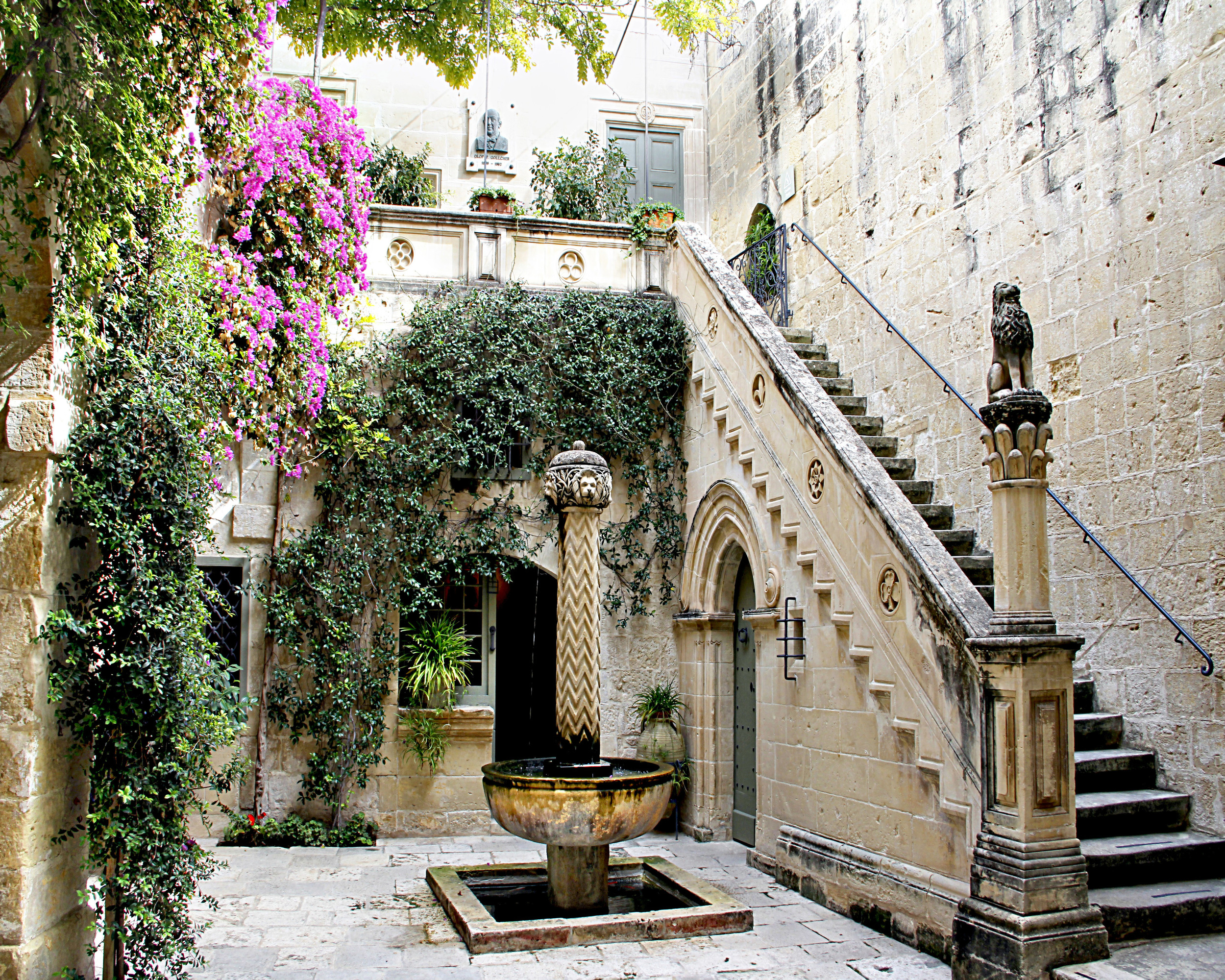 Fountain in a Courtyard  E106