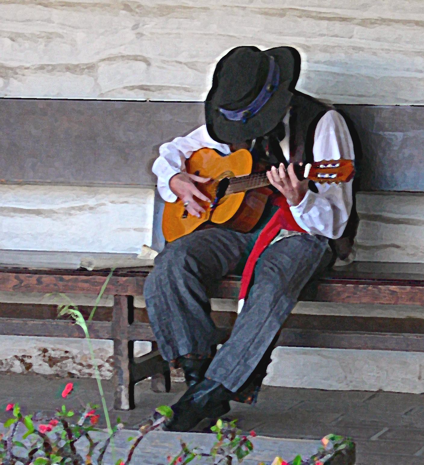 Guitarist III  P103