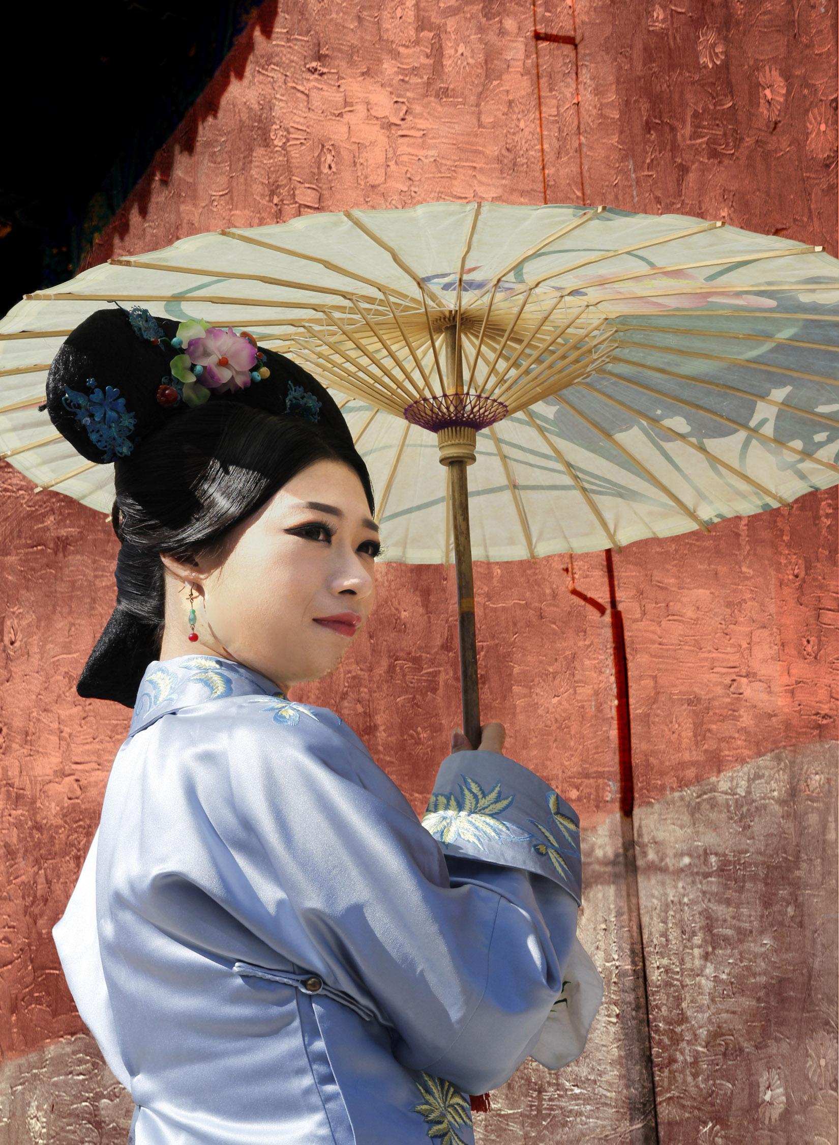 Kimono & Parasol  P105