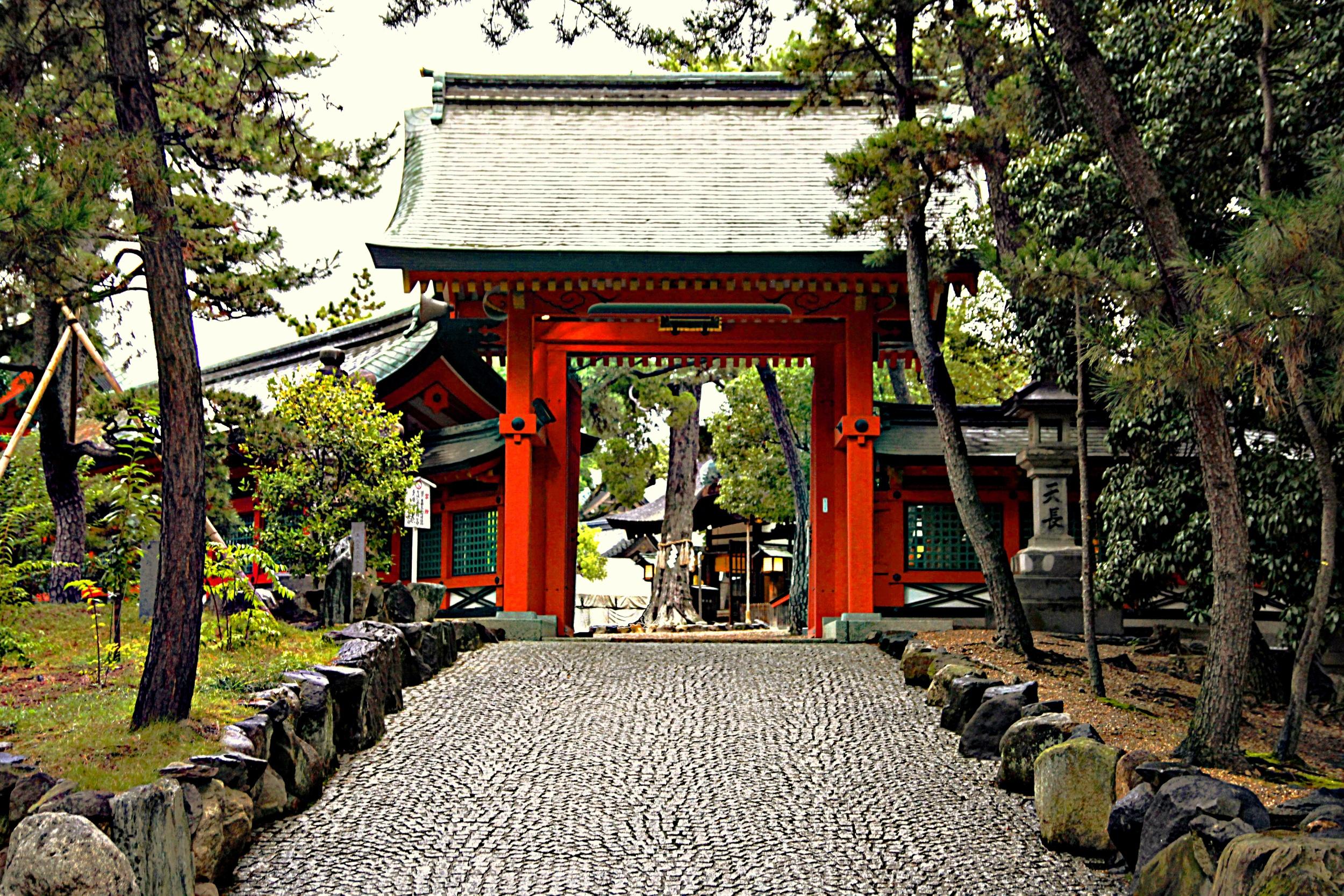 Entrance Shinto Temple  A102