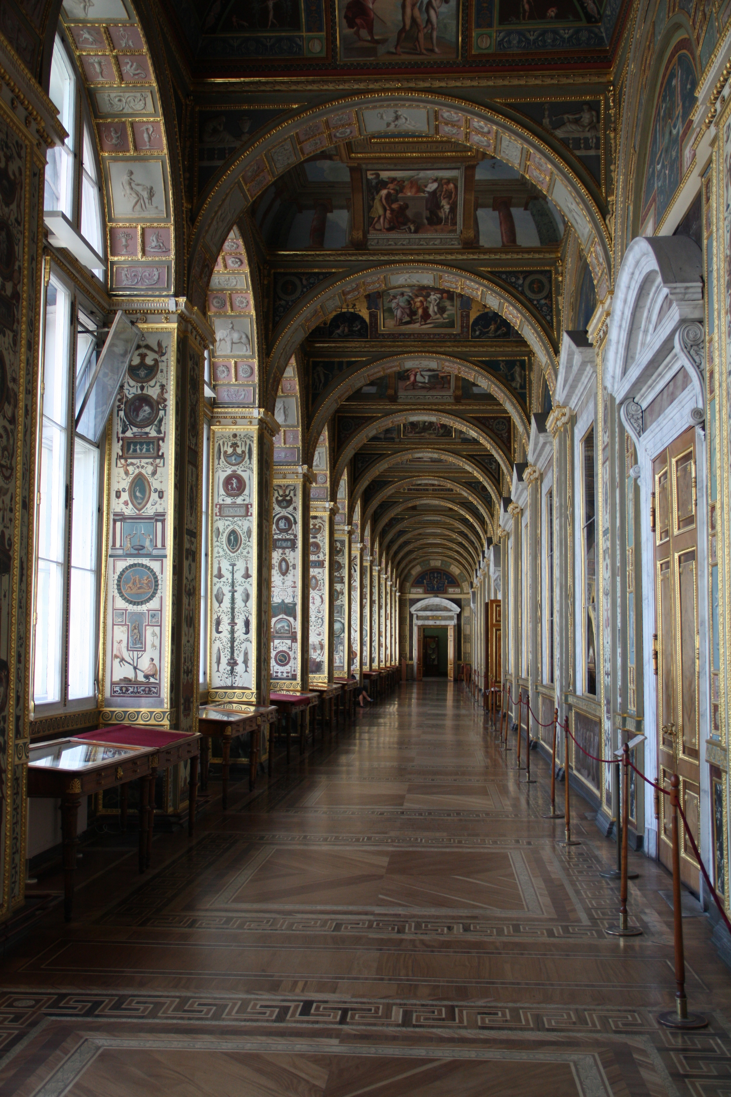 Hallway in the Hermitage  E113