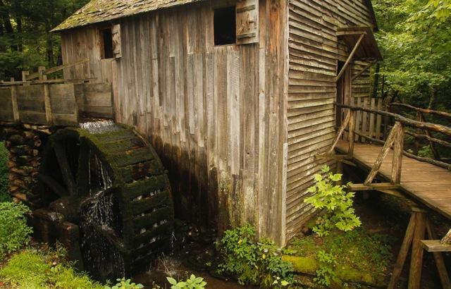 1840s Grist Mill  U111