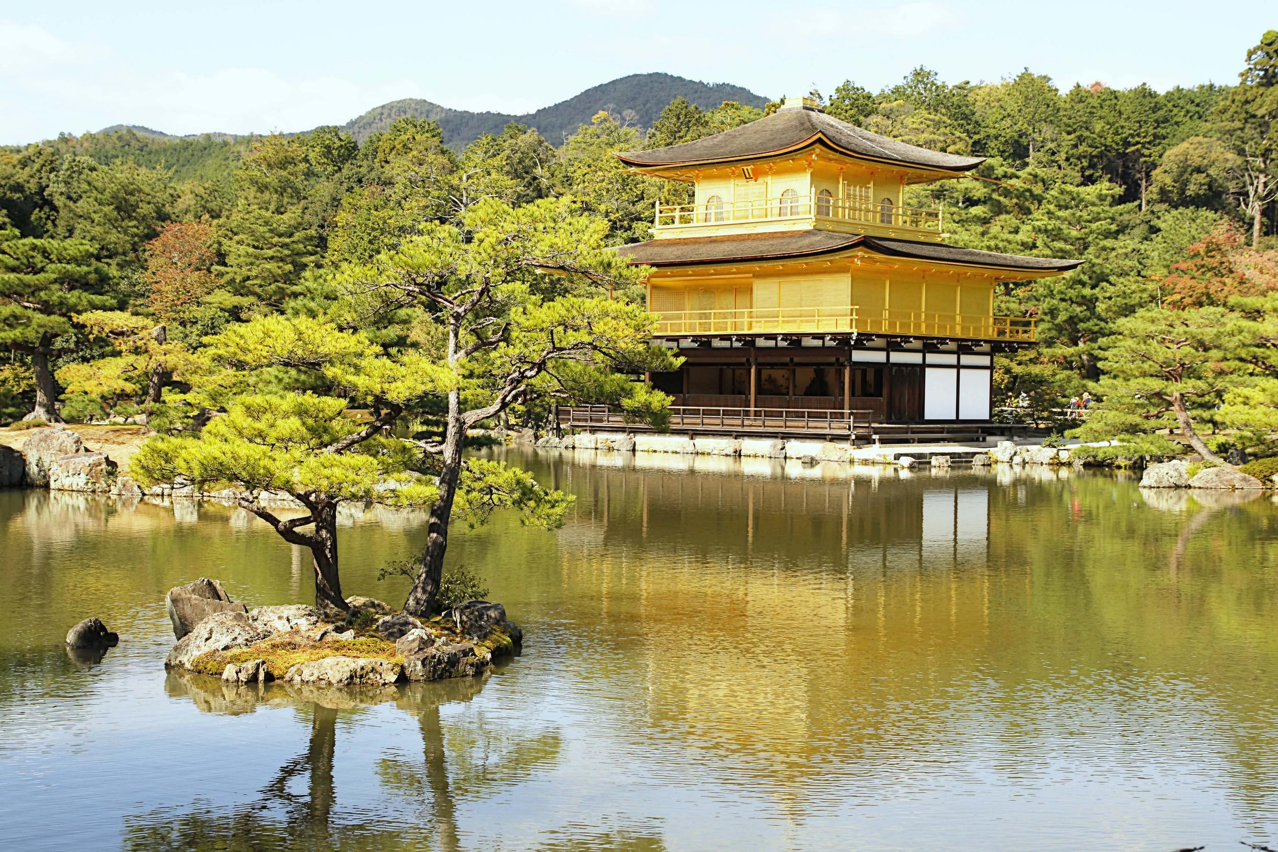 Temple of the Golden Pavilion  A108