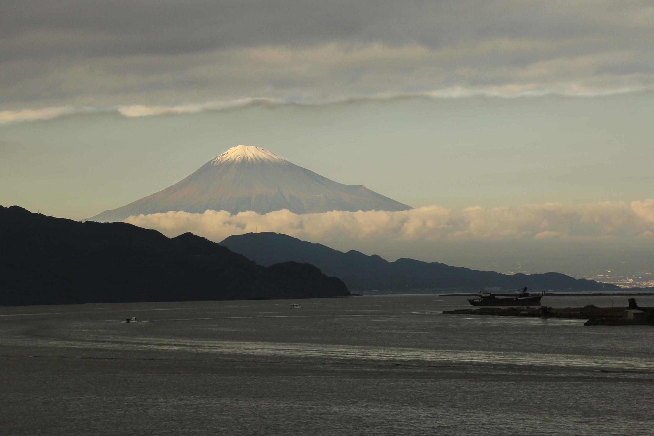 Mount Fuji Early Morning  A110