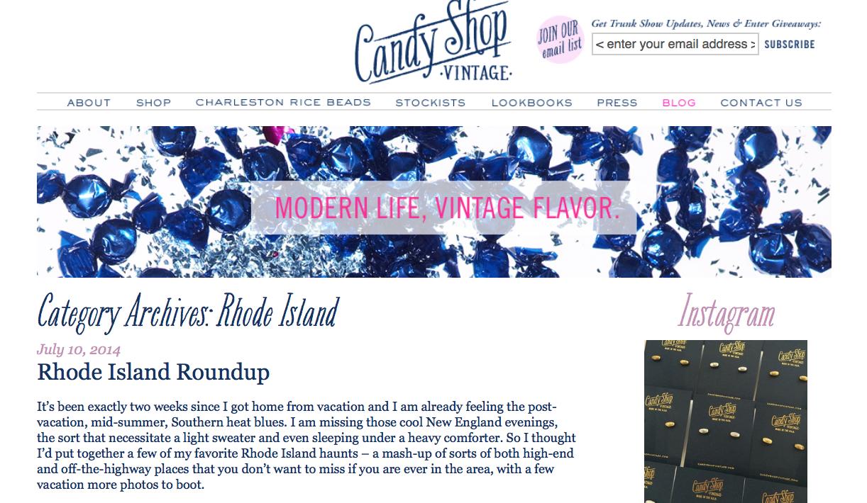 Candy Shop Vintage