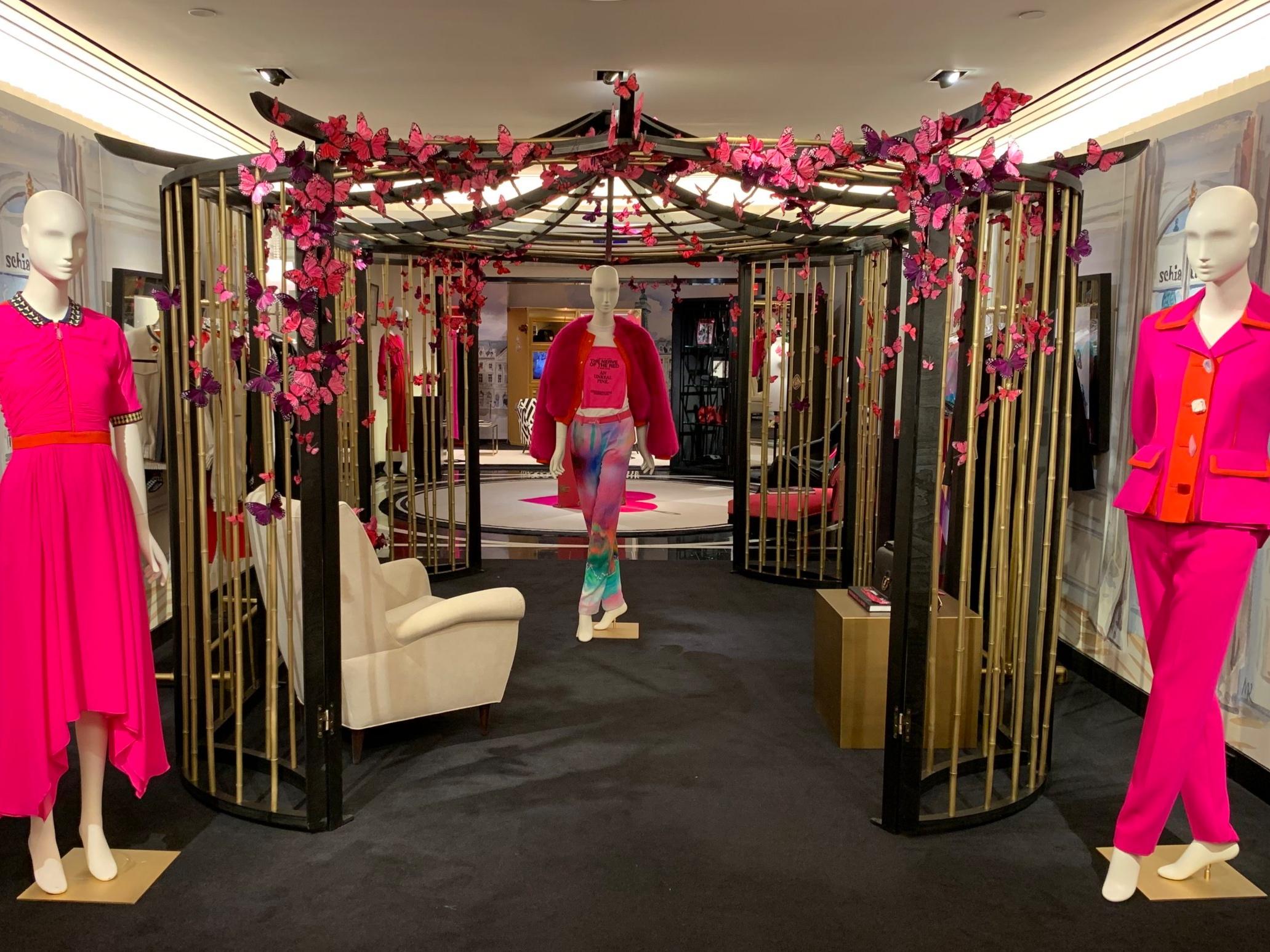 "Schiaparelli ""Secret Garden"" Collection x Bergdorf Goodman Launch Party Featuring Hairstylist John Nollet"