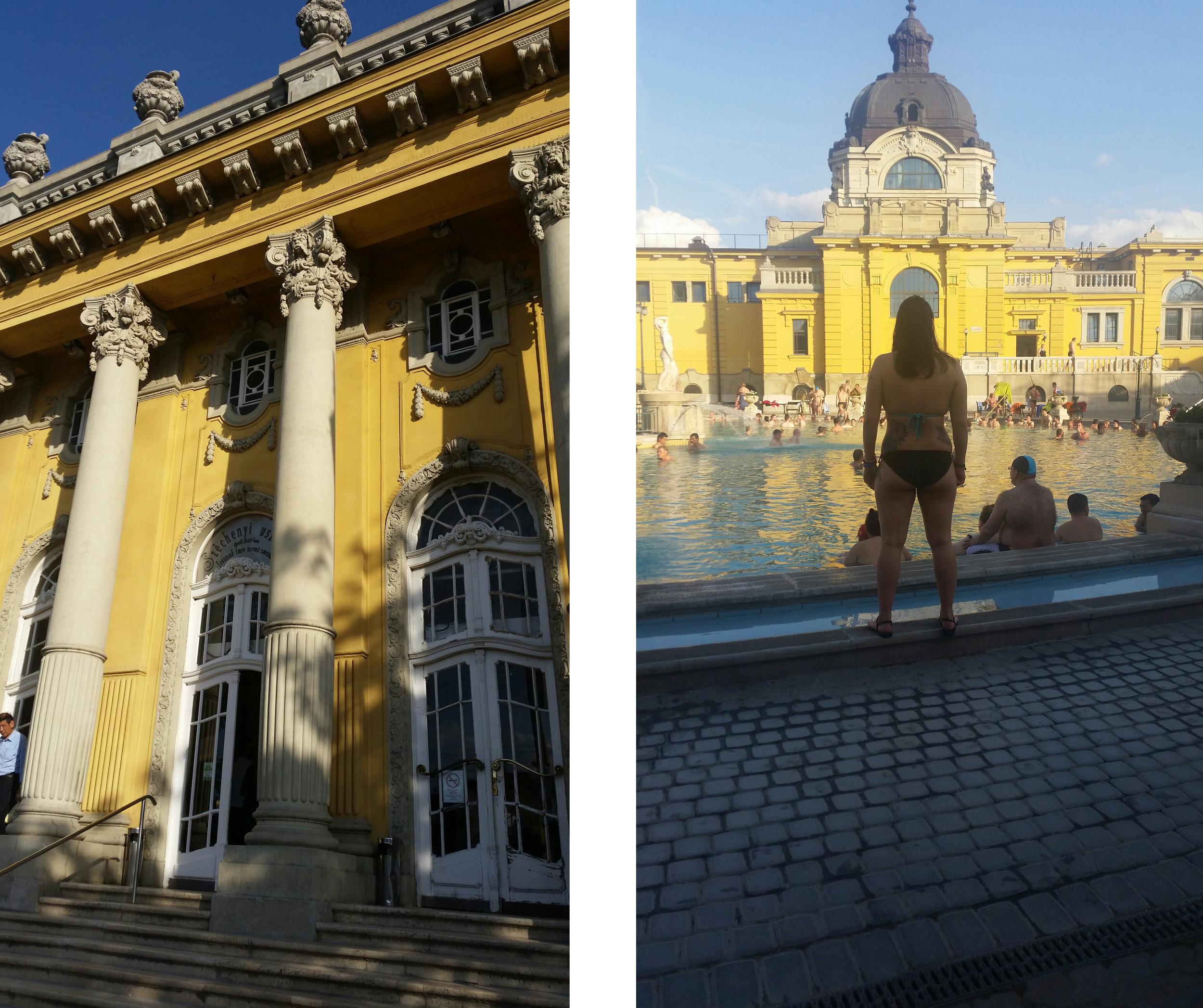 The  Széchenyi  baths