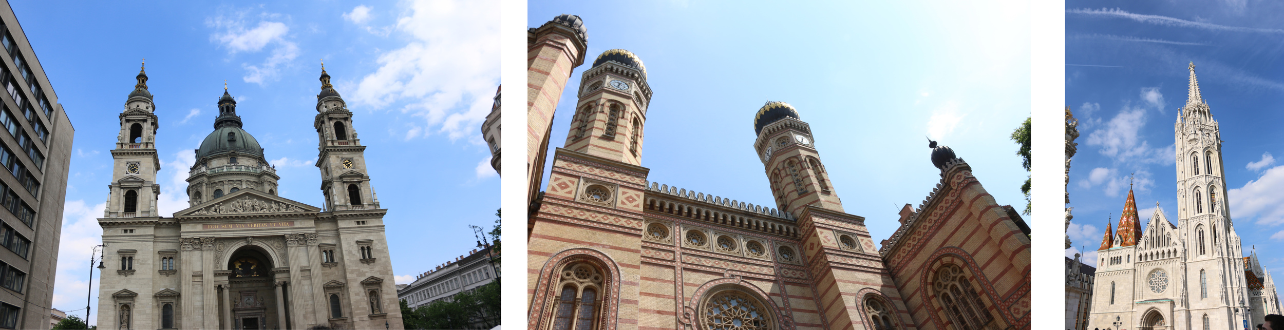 Churches and synagogues in Budapest