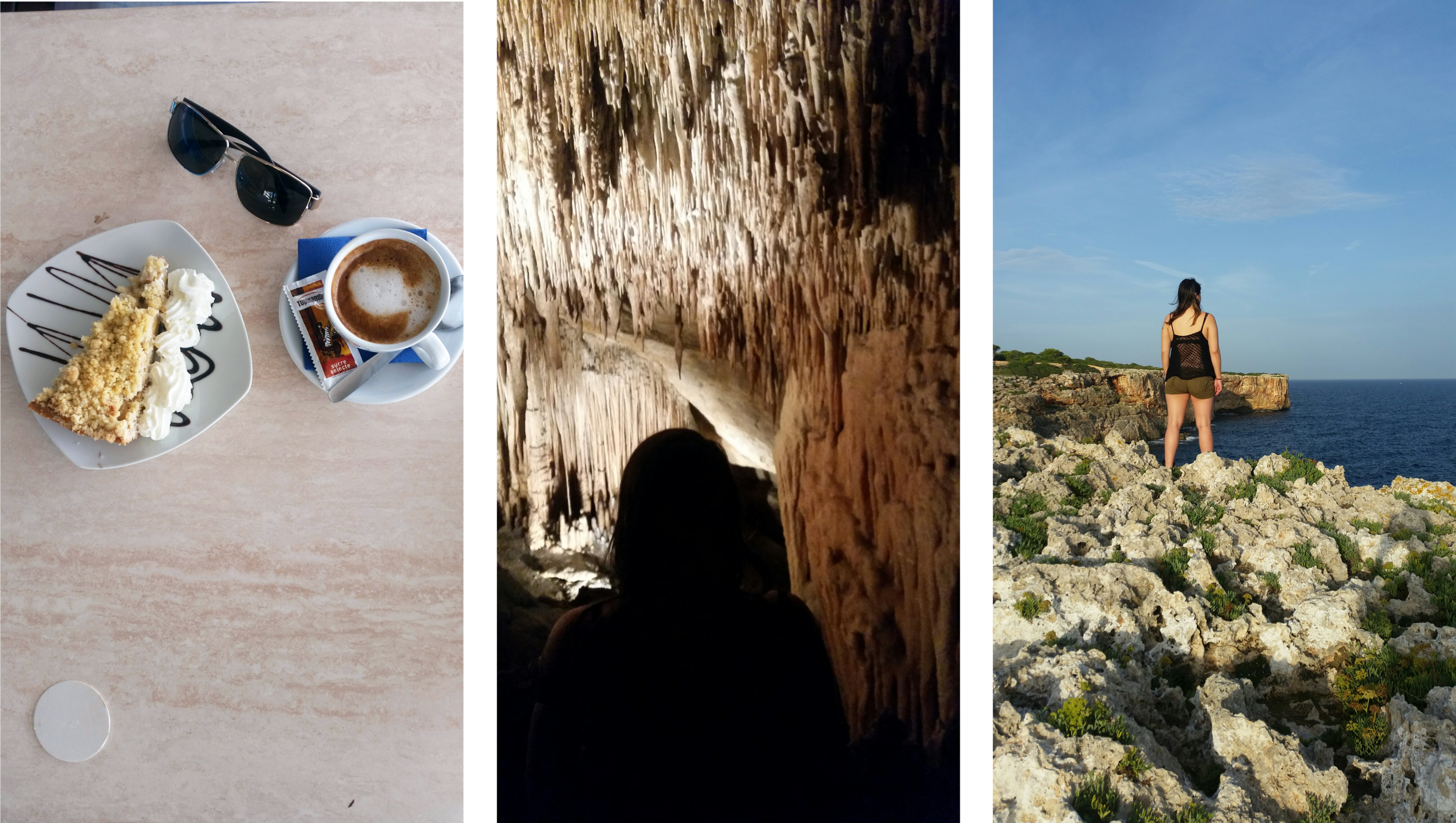 Coffee & Cake, the caves, and a random stop on the road.