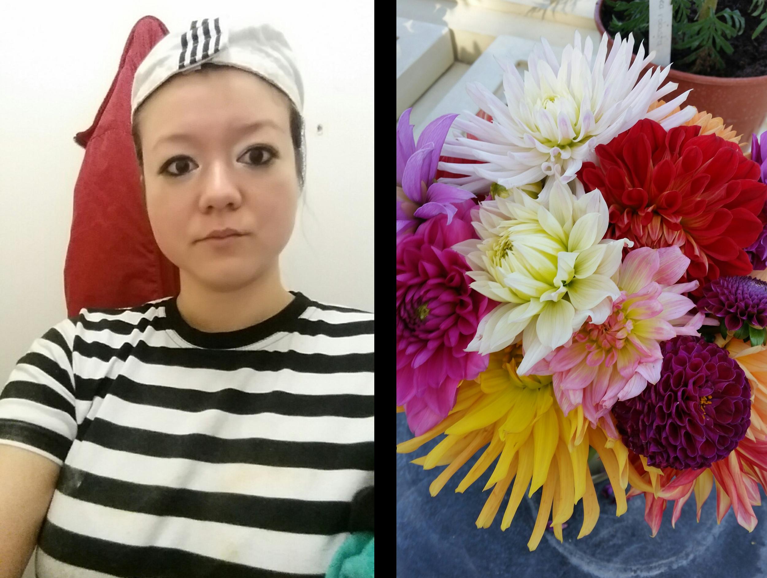 My chef outfit aka prison uniform.