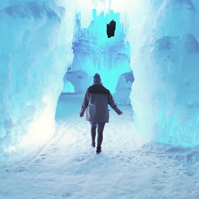 I'm back from Colorado, but winter's end is nowhere in sight. 🙄 I wish I still had fun places like this to explore. Bring on spring! . . . . #colorado #tgif #findyourself #dailyinspiration #icecastles #travelmore #wonderlust #expandyourplayground #explore #experience #travel #wanderlust #travelgram #travelgirl #outdoors #adventurethatislife #mountain #rad #beautiful #travelphotography #love #winter #naturelover #adventure #ice #wander #photooftheday #snow #vibes #friday