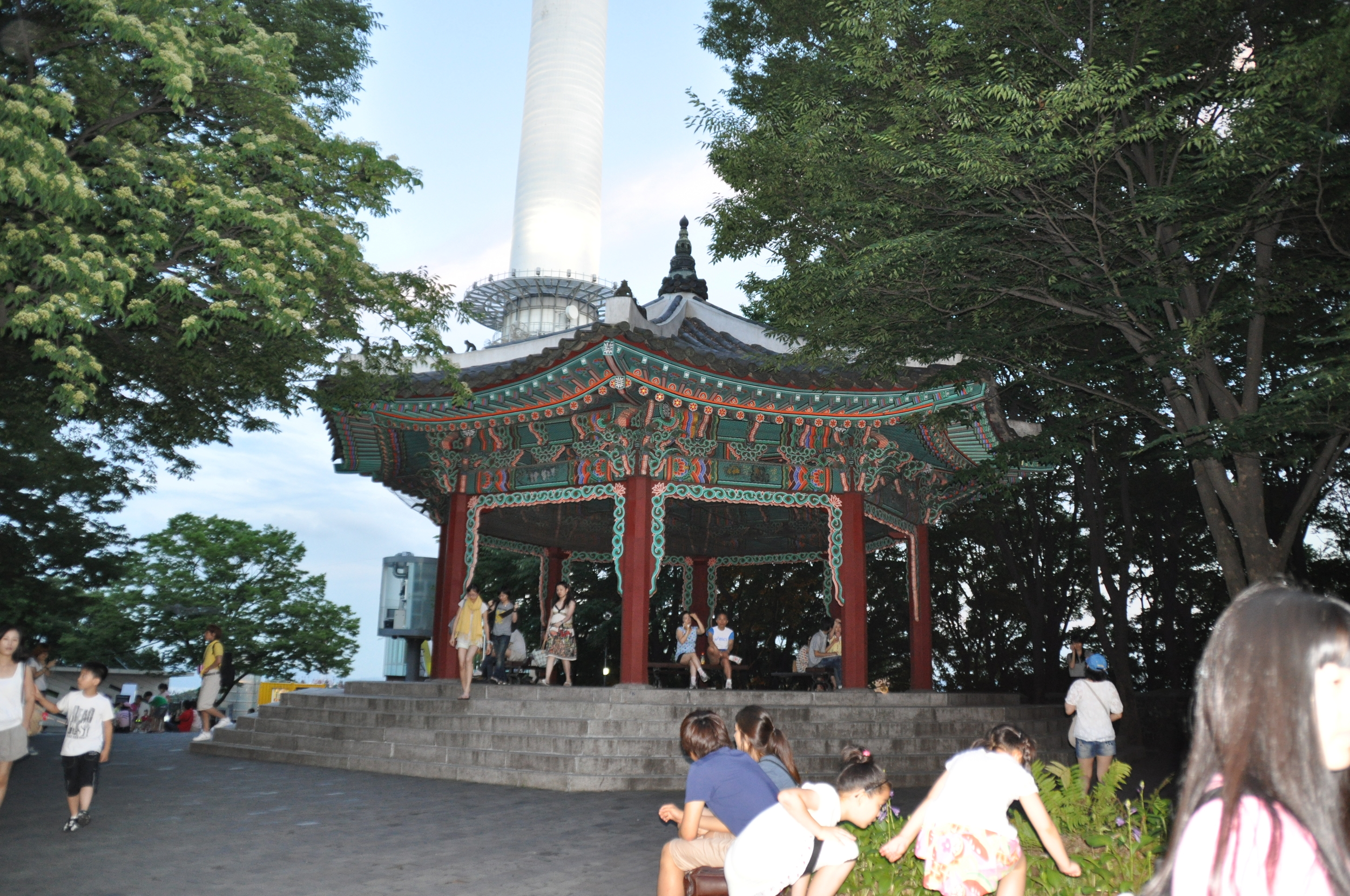 Pagoda at Namsan Tower Seoul, S Korea