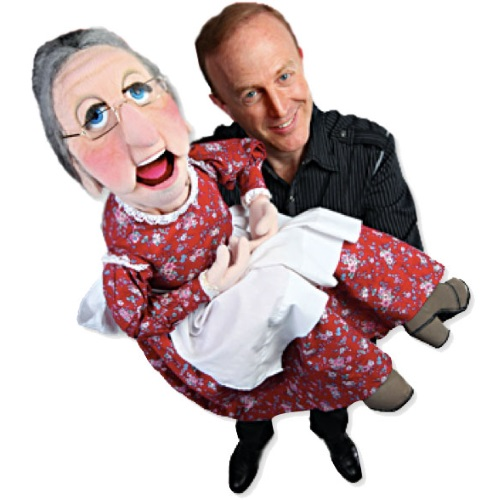Ventriloquist David Pendleton, Friday evening entertainment