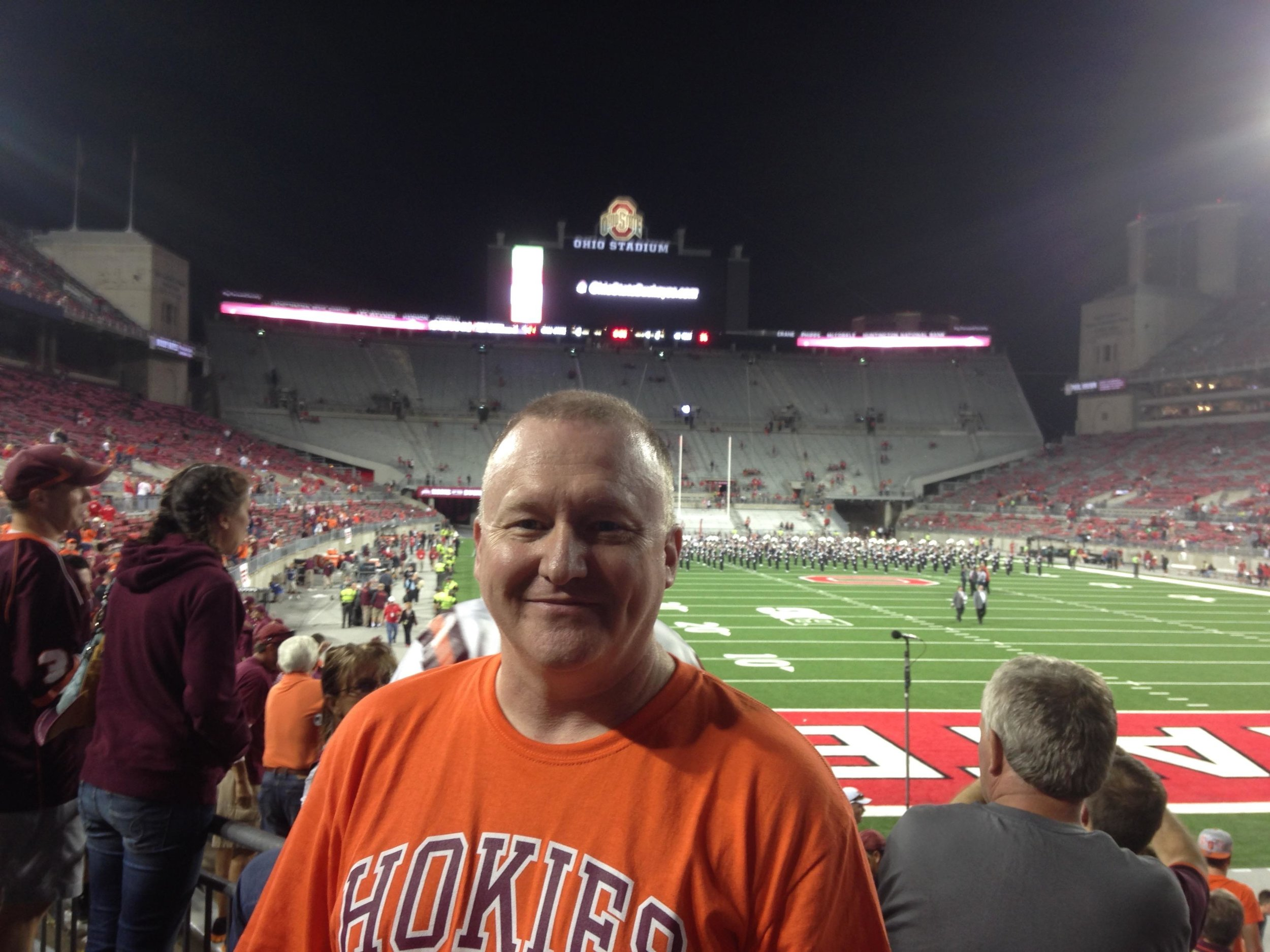 Virginia Tech fan Bill Atwood will attend his 183rd consecutive Virginia Tech game Saturday night in Miami when the Hokies play the University of Miami Hurricanes.