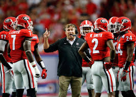 Kirby Smart won the SEC Championship in 2017 in his 2nd year as head coach of the Georgia Bulldogs.