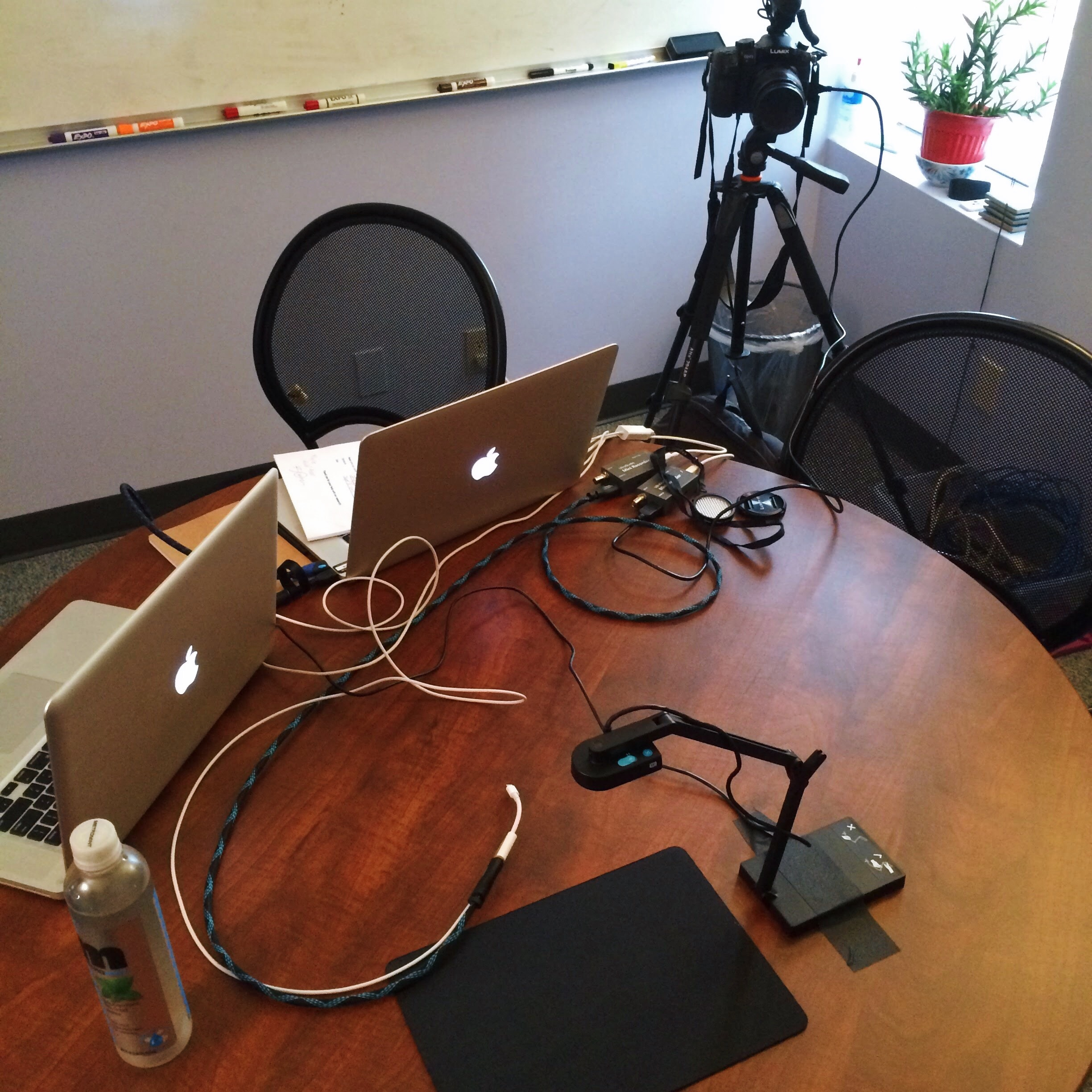 Field kit for usability testing of a mobile app.  Photo by Greg Hansen .