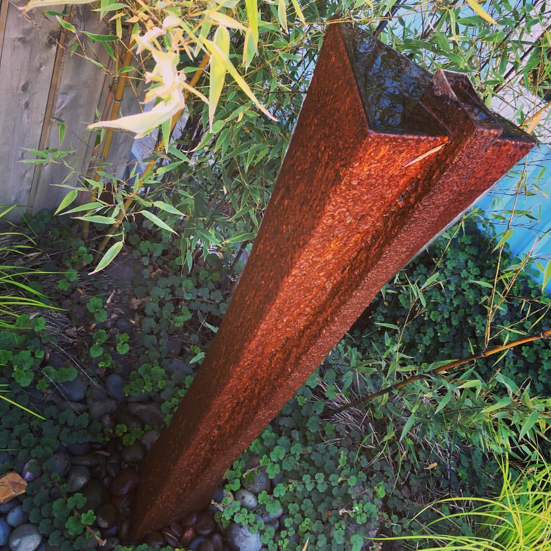 Abstract Corten Sculpture