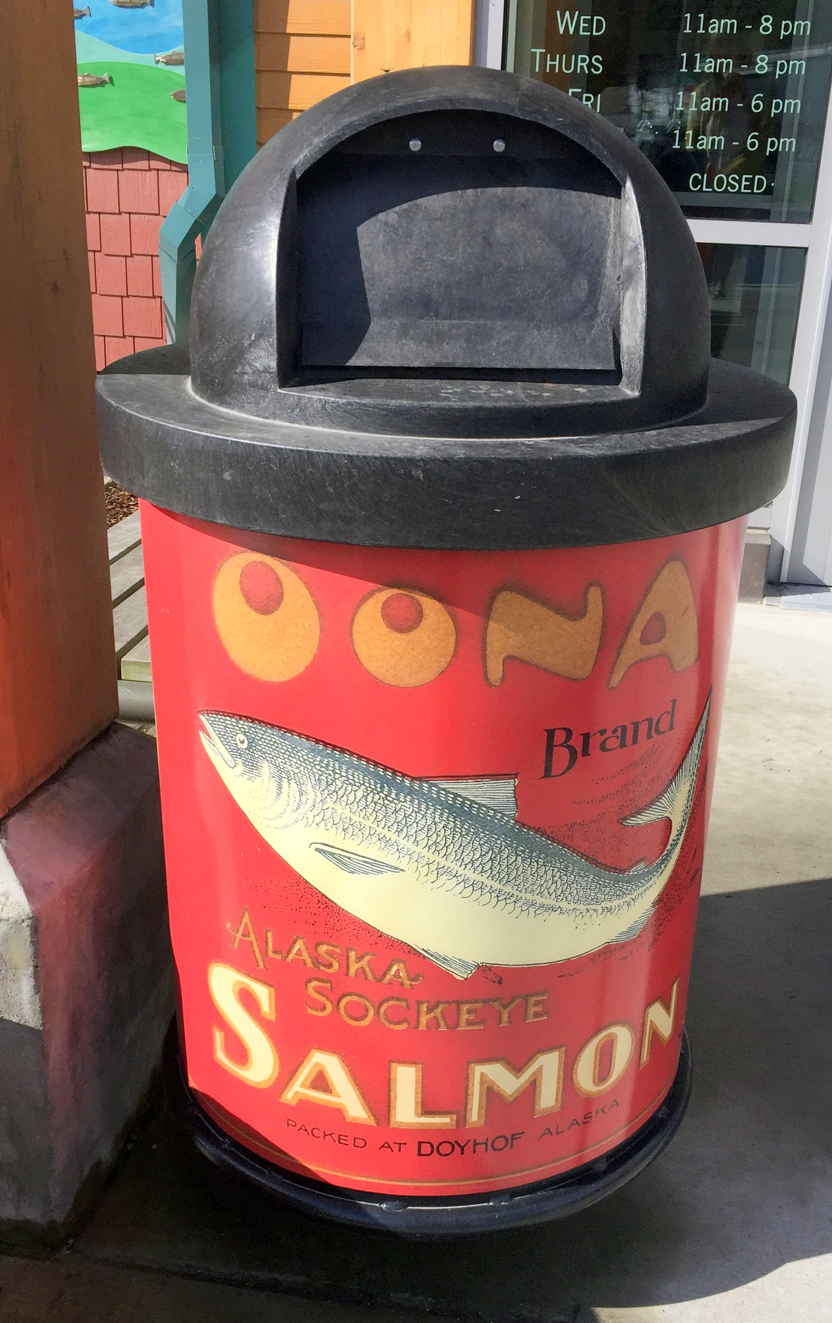 HISTORIC SALMON CAN Oona/Doyhof Cannery