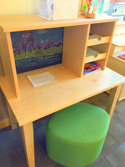ANDY COWAN Early Literacy Desk