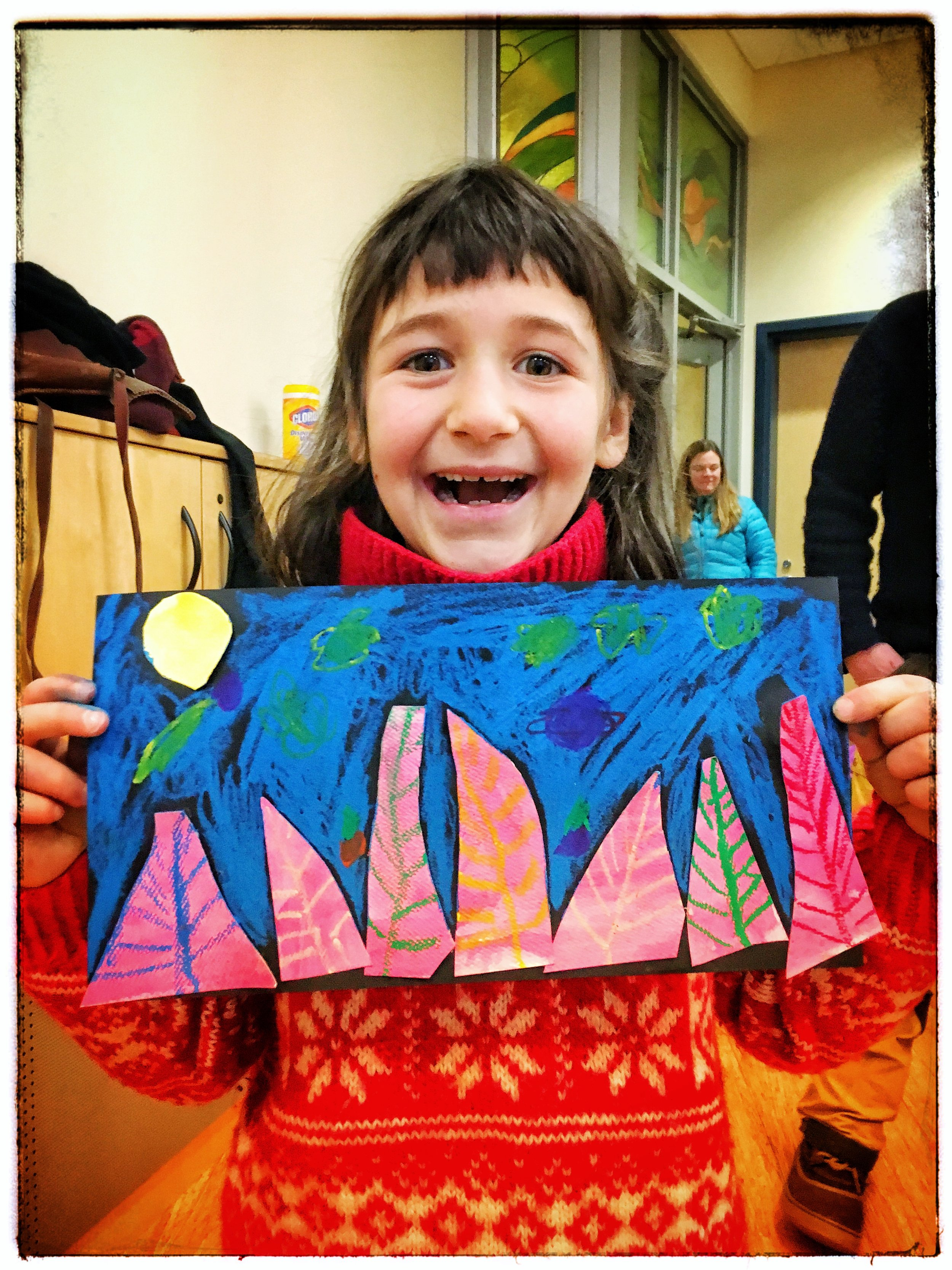 Curiousity CreateS! a drop in after school program was funded by the arts endowment in 2018.