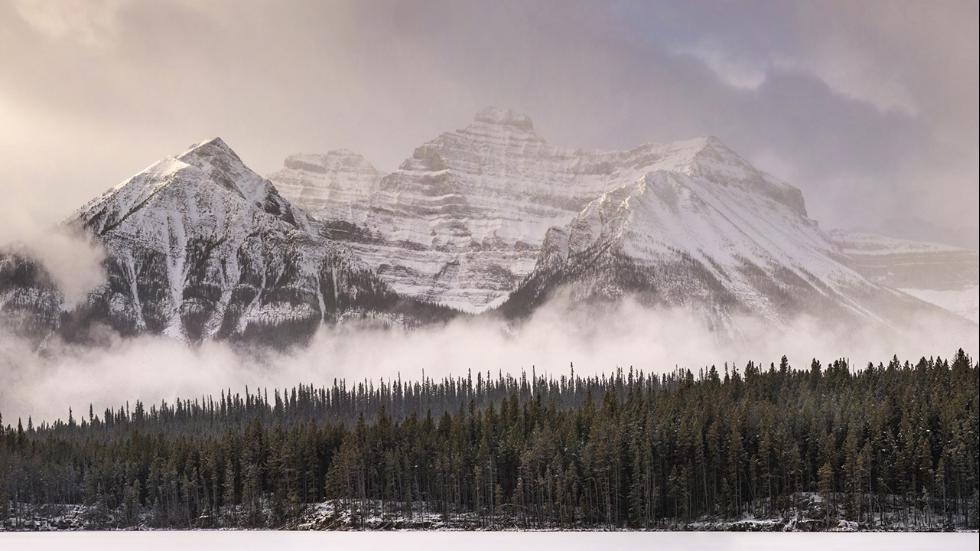 This photo by Stewart was photographed at Banff National Park in Alberta, Canada.