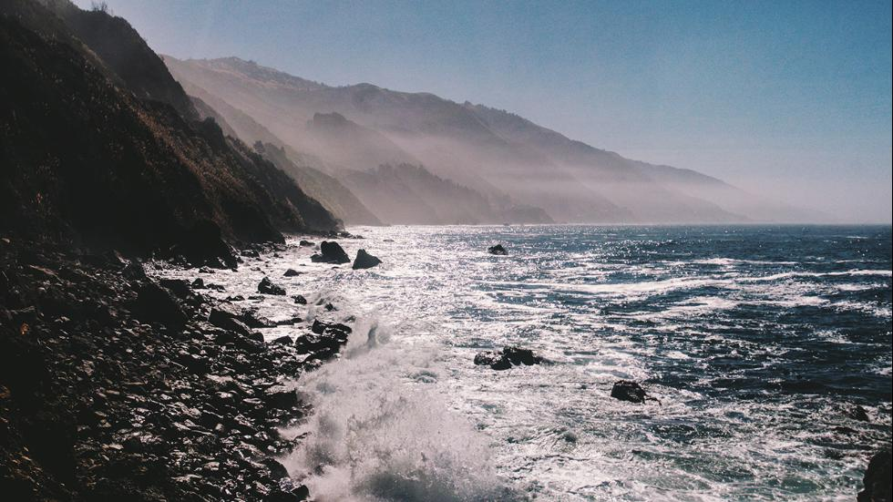 This photo by Stewart is of Big Sur.