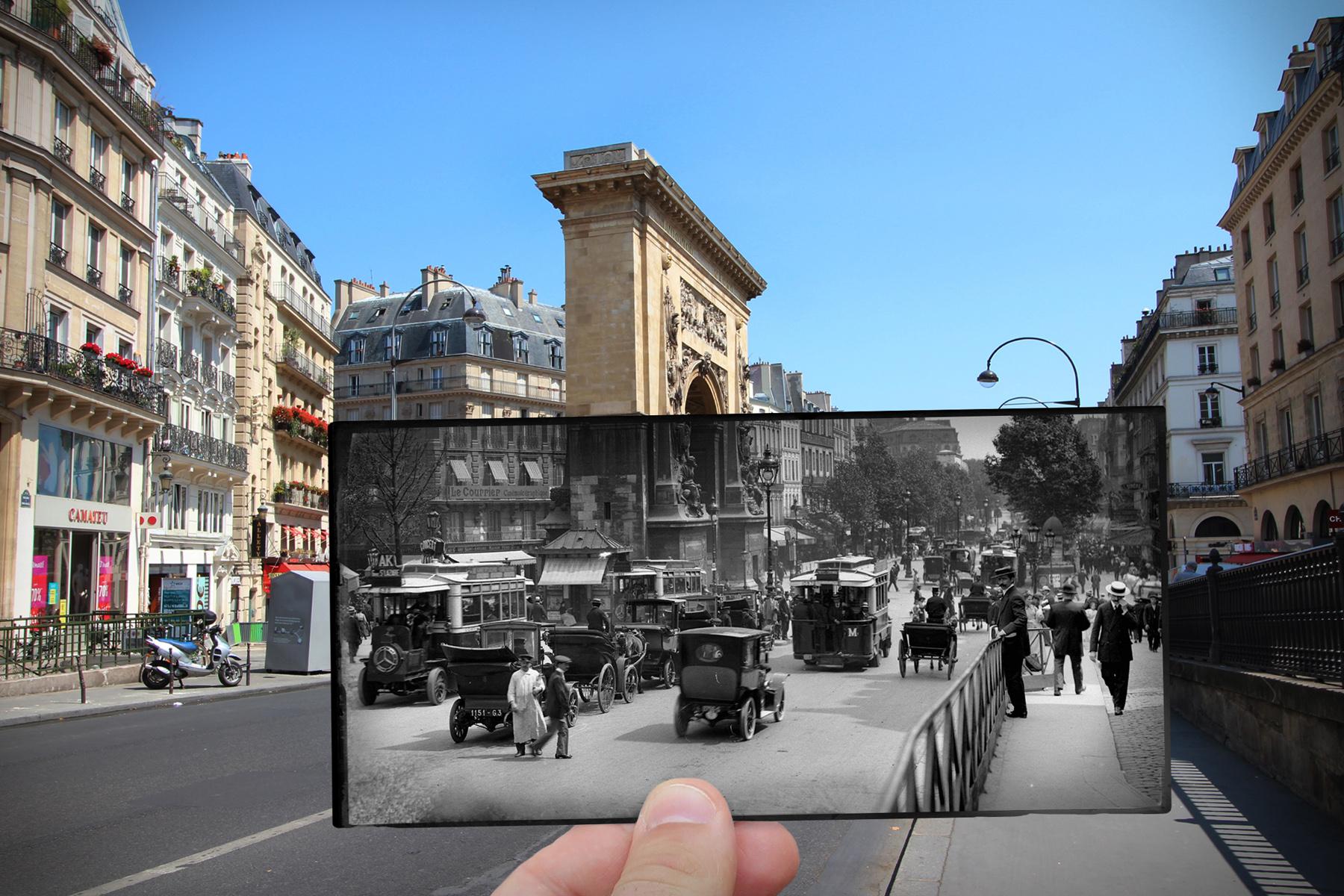 Boulevard Saint-Denis, 1910