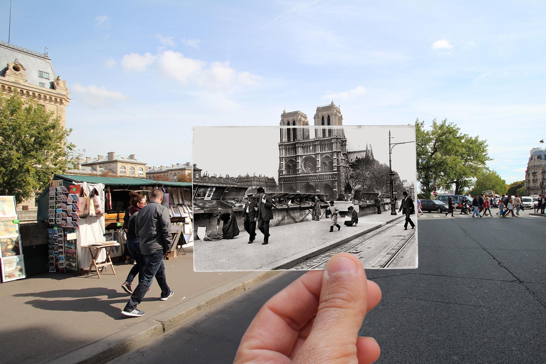 Quai Saint-Michel, 1914