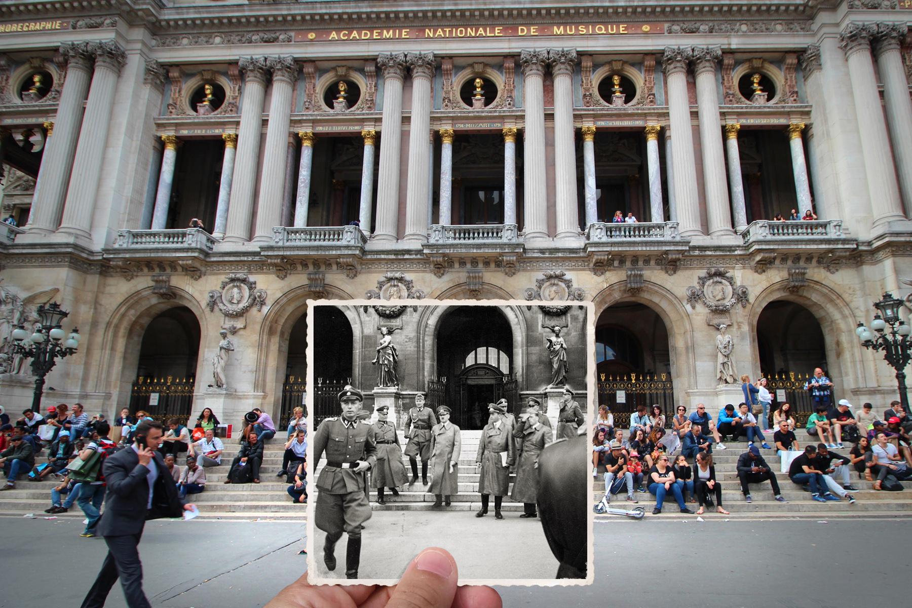 Place de l'Opéra, 1940