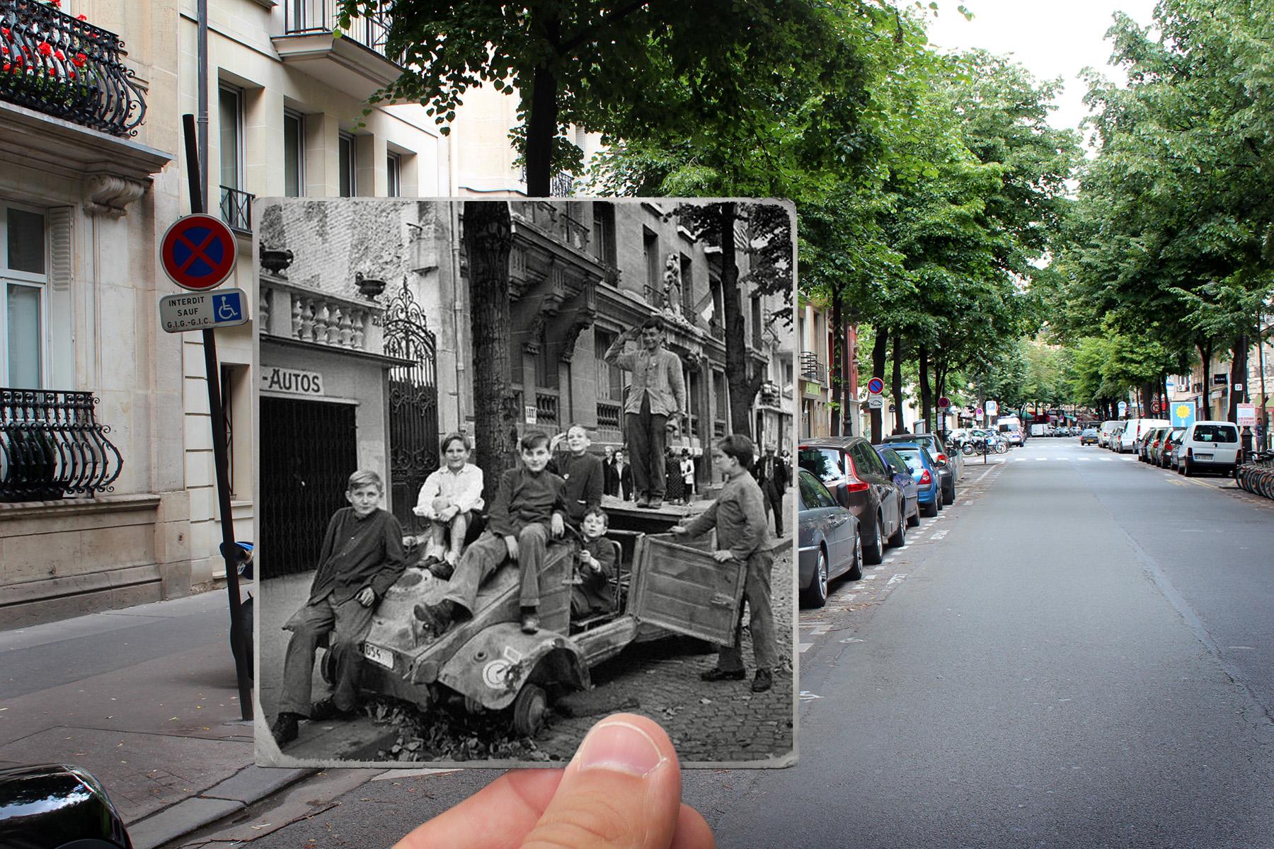 Avenue Mozart, 1944