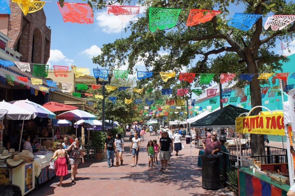 Photo credit:  David via Flickr of Market Square in San Antonio, Texas.