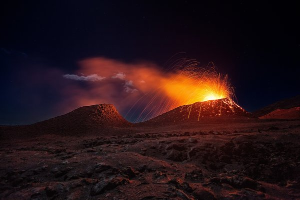Title: La Fournaise Volcano, Photo credit: Gaby Barathieu
