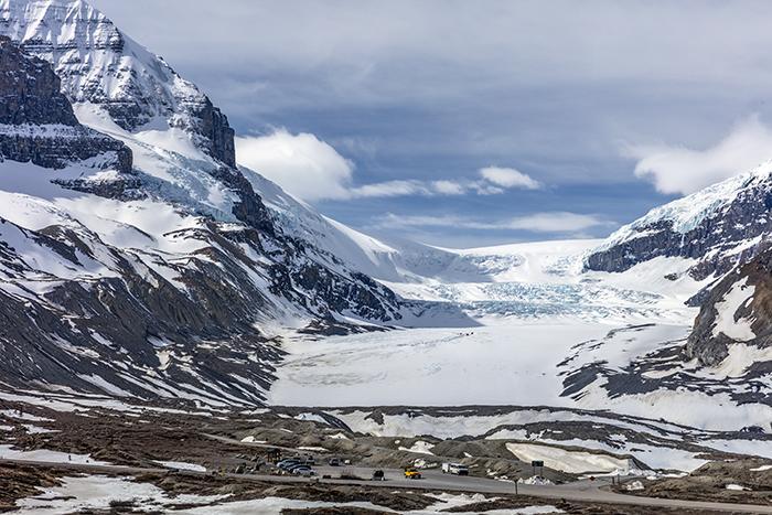 The Athabasca Glacier, Jasper National Park