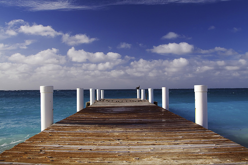 """Grace Bay Beach Pier"" by  WiseDoc"