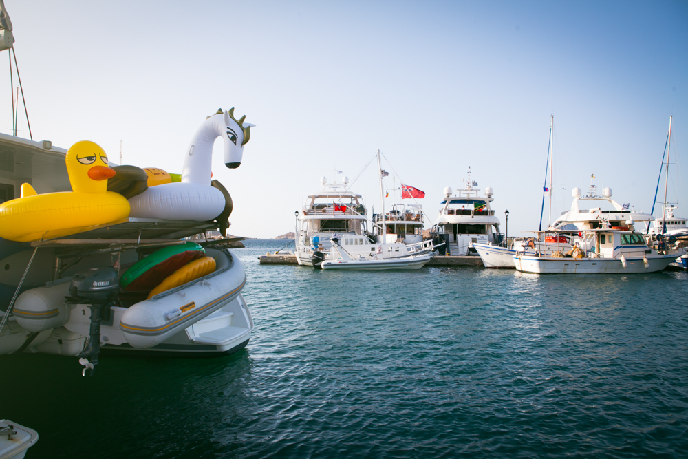 Also known as the yacht hang out, every shape and size, catamarans to the extremely large.