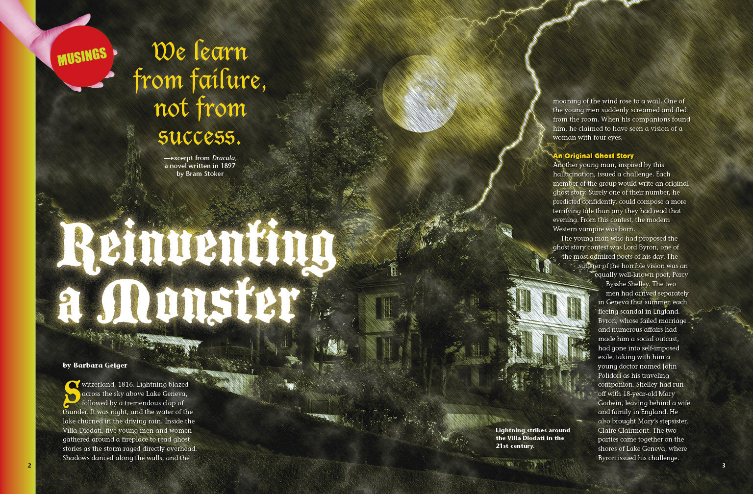 Reinventing a Monster