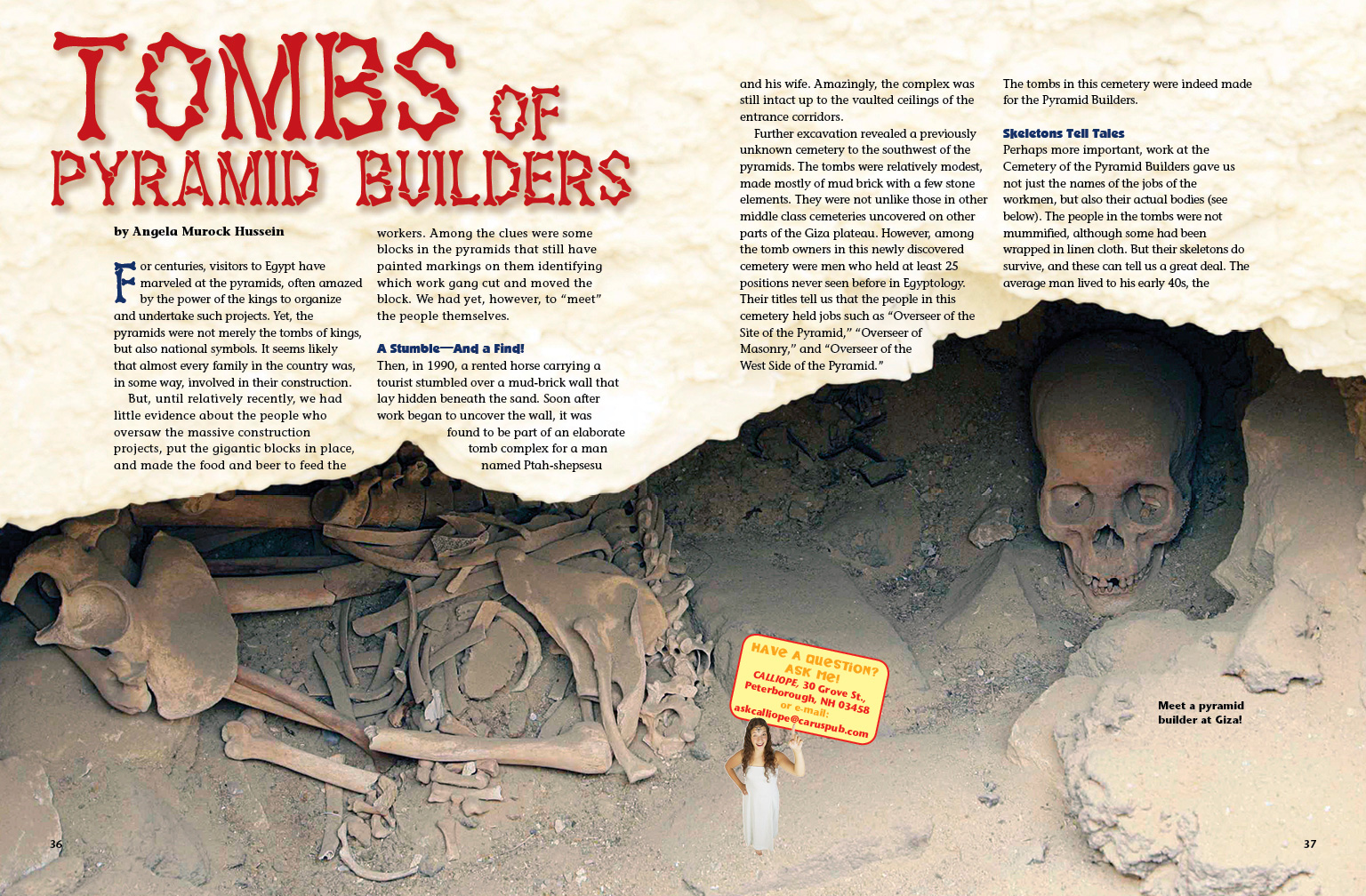 Tombs of Pyramid Builders
