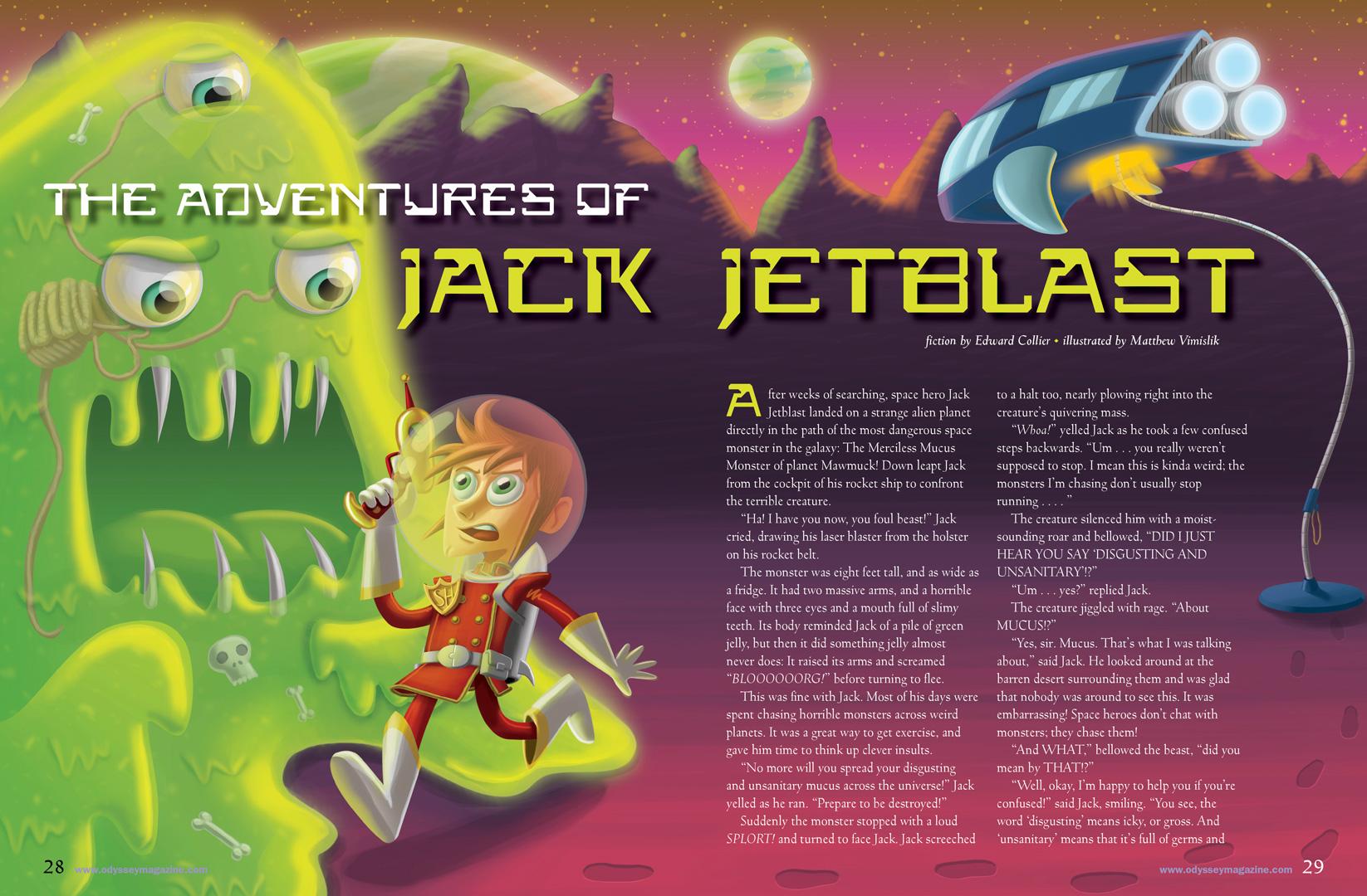 The Adventures of Jack Jetblast