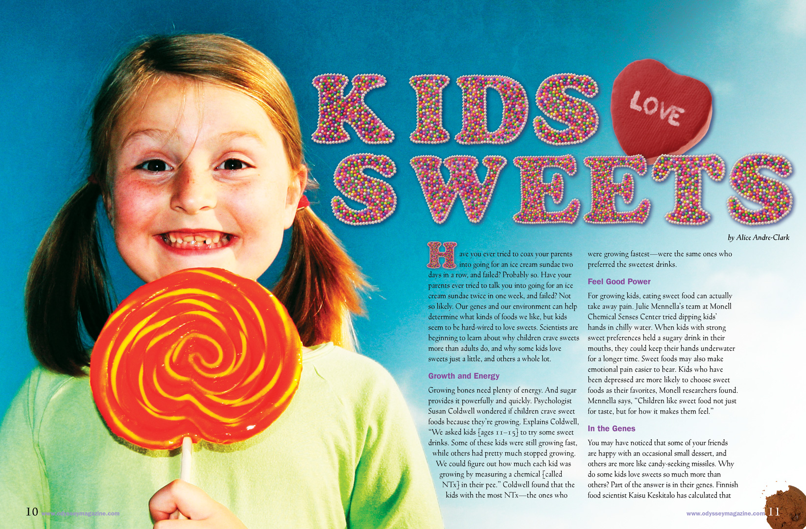 Kids Love Sweets