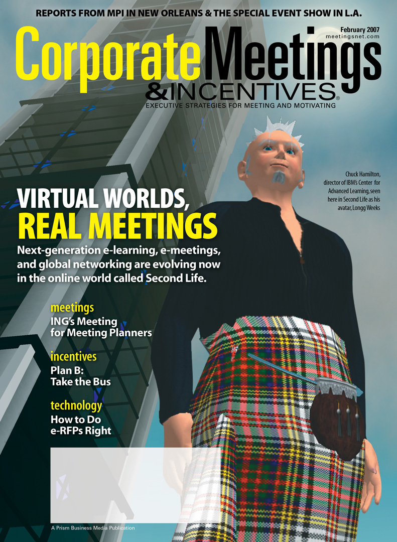 Virtual Worlds, Real Meetings