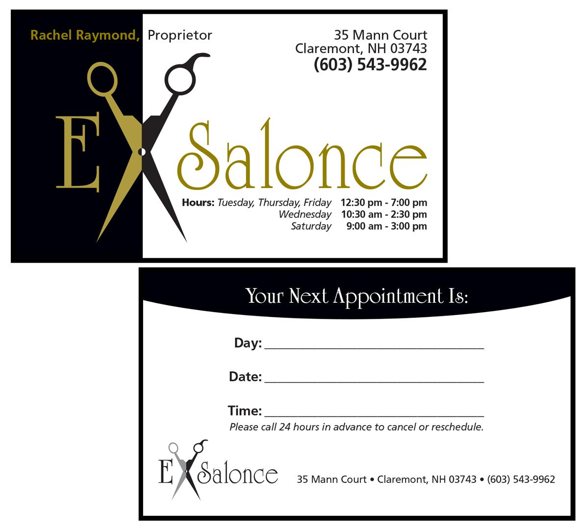 ExSalonce Business Card