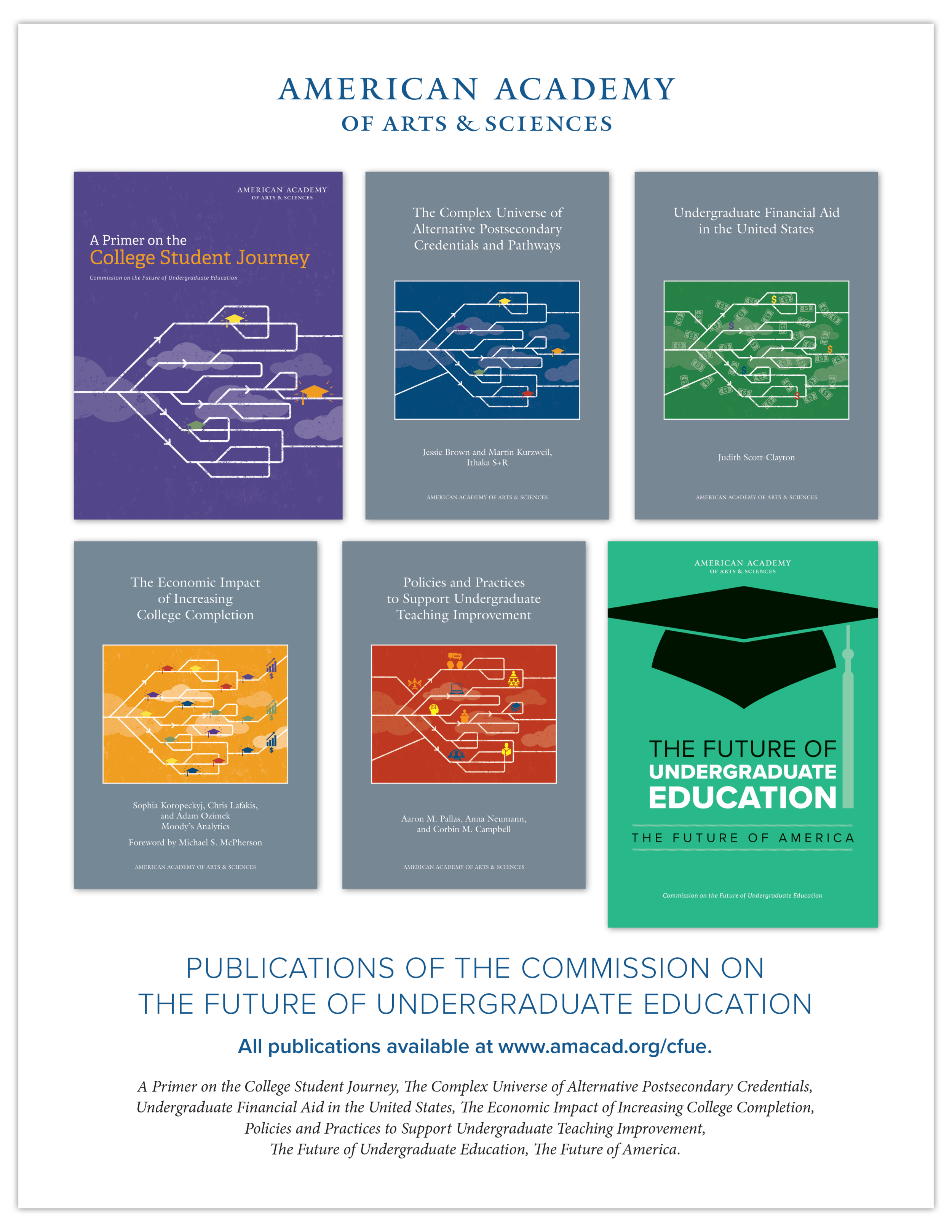 Ad for the Commission on the Future of Undergraduate Education