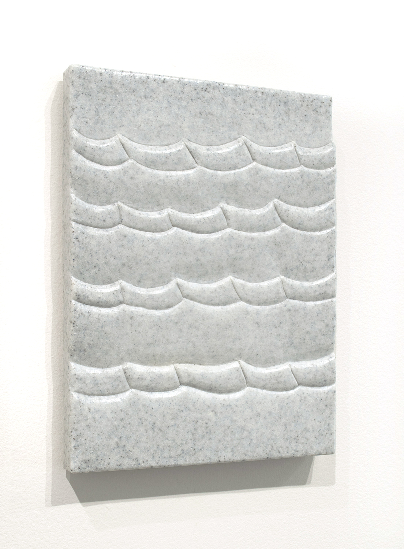 Sea Tablet (Capri),  2018  9 x 12 x 1.5 inches  Marble composite