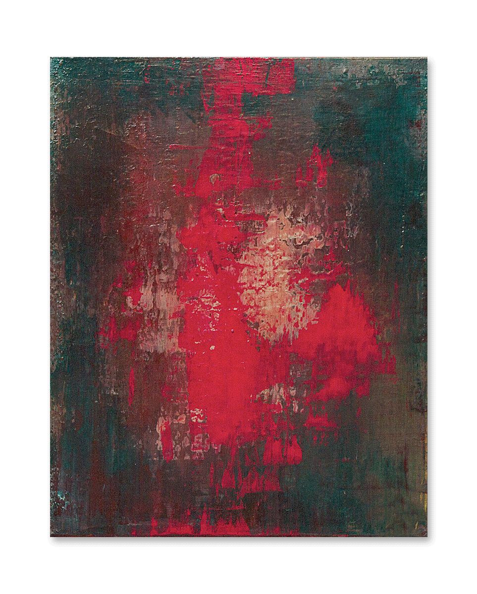 """Twisting Winds""  16x20 - acrylic on canvas, high gloss finish"